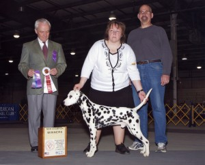 Barb & Dave Garceau with their new Champion, AJ